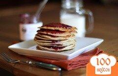 Фото рецепта: «Арахисовые блины с желе»