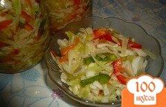 Фото рецепта: «Маринованный капустный салат»