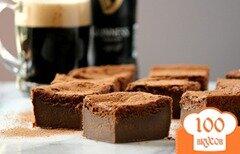 Фото рецепта: «Шоколадные пирожные с пивом»