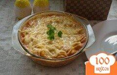 Фото рецепта: «Запеченые пельмени в томатном соусе»