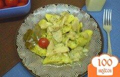 Фото рецепта: «Картофель с грибами»