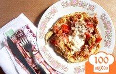 Фото рецепта: «Омлет с грецкими орехами»