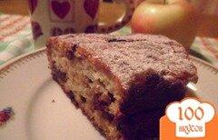 Фото рецепта: «Яблочный кекс-запеканка.»