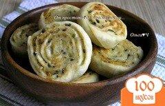 Фото рецепта: «Картофельные рулеты с кунжутом»