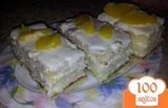 """Фото рецепта: «Пирожное """"Апельсиновое настроение""""»"""