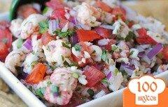 Фото рецепта: «Сальса с креветками»