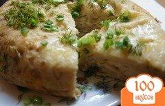 Фото рецепта: «Ленивая ачма или слоеный пирог из лаваша с сыром»