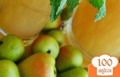 Фото рецепта: «Грушевый лимонад»