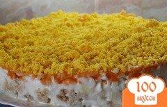 Фото рецепта: «Рыбный салат Мимоза»