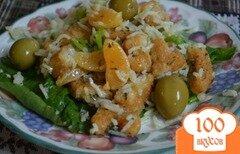 Фото рецепта: «Салат с курицей и апельсином»