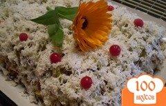 Фото рецепта: «Салат с печенью»
