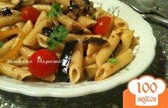 Фото рецепта: «Пенне с баклажанами и сардинами»