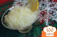 Фото рецепта: «Лимонный сорбет»