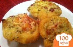 Фото рецепта: «Запеченные томаты с беконом»