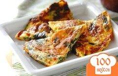 Фото рецепта: «Испанский омлет со шпинатом»