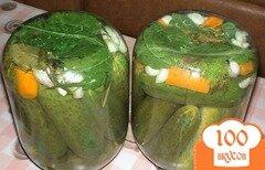 Фото рецепта: «Маринованные хрустящие огурцы»