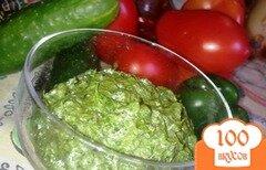 Фото рецепта: «Соус Песто с рукколой»