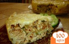 Фото рецепта: «Мясной пирог из лаваша»