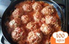 Фото рецепта: «Сочные тефтели в сметанном соусе»