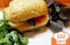 Фото рецепта: «Кавказский сэндвич с бараниной»