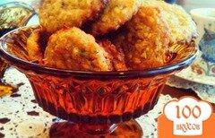 Фото рецепта: «Овсяное печенье с фисташками и апельсином»