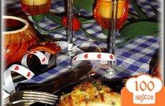 Фото рецепта: «Рыба в горшочках, запеченная в омлете»