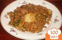 Фото рецепта: «Чечевица с грибами»
