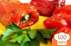 Фото рецепта: «Печеный красный перец»