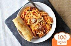 Фото рецепта: «Паста с сосисками»