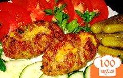 Фото рецепта: «Зразы с сыром в духовке»