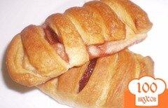 Фото рецепта: «Пирожки слоеные с вареньем»