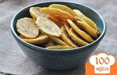 Фото рецепта: «Банановые чипсы»
