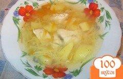 Фото рецепта: «Куриный суп с лапшой»