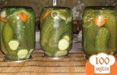 Фото рецепта: «Огурцы с лимонной кислотой»