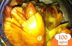 Фото рецепта: «Конфетки из инжира в апельсиновой карамели»