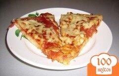 Фото рецепта: «Пицца с салями»