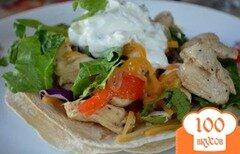 Фото рецепта: «Легкий рецепт куриного фахитас»