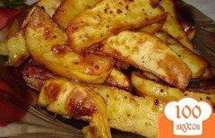 Фото рецепта: «Медовая картошка»