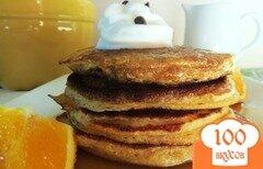 Фото рецепта: «Апельсиново - шоколадные блинчики»