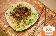 Фото рецепта: «Курица с овощами по-японски»