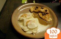 Фото рецепта: «Куриное филе с лимонным соусом»