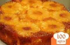 Фото рецепта: «Ананасовый пирог в мультиварке»