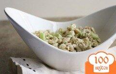Фото рецепта: «Салат с тунцом и яйцом»