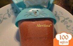 Фото рецепта: «Мороженое с ягодным желе»