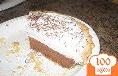 Фото рецепта: «Шоколадный пирог Французский шелк»
