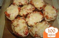 Фото рецепта: «Горячие бутерброды на скорую руку»