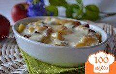 Фото рецепта: «Ньокки с яблоками и клюквой»