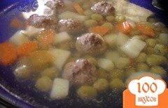 Фото рецепта: «Суп с мясными шариками»