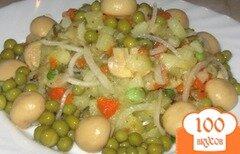 """Фото рецепта: «Салат из овощей """"Крестьянский""""»"""