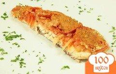 Фото рецепта: «Запеченная рыба в томатном соусе»
